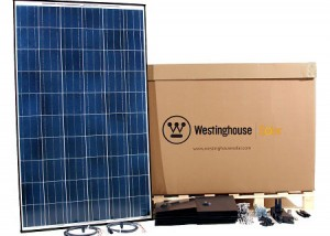 New Home Solar Kit In A Box From Westinghouse