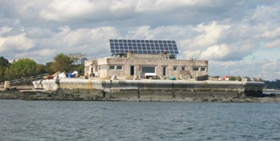 Self-Powering an Island with Solar and Solar Storage