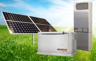 Solar Battery Backup Marketed Through A/V Dealers