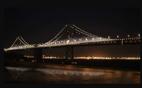 LEDs Light Up Bay Bridge