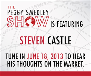 Steven Castle Interview on The Peggy Smedley Show